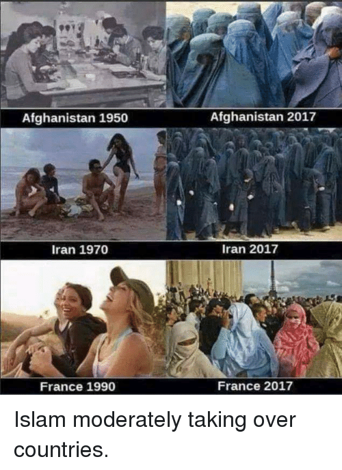 Afghanistan, France, and Iran: Afghanistan 1950  Afghanistan 2017  Iran 1970  Iran 2017  France 1990  France 2017