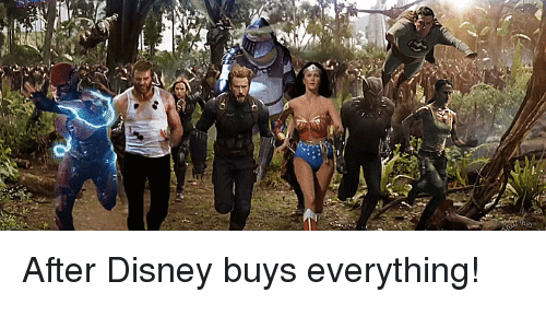 Disney, Funny, and Everything: After Disney buys everything!