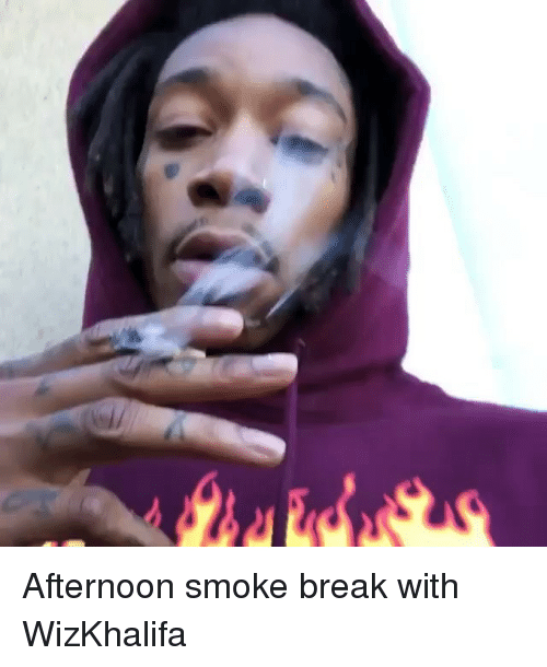 Memes, Break, and 🤖: Afternoon smoke break with WizKhalifa