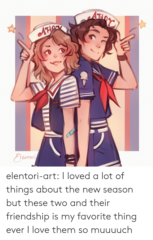 Love, Target, and Tumblr: AH  Eleatori elentori-art: I loved a lot of things about the new season but these two and their friendship is my favorite thing ever I love them so muuuuch