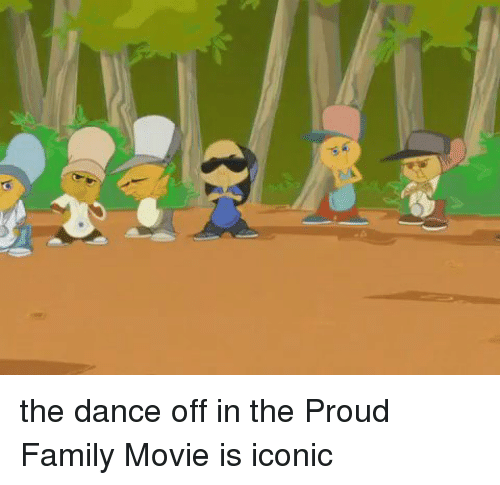 proud family: Al the dance off in the Proud Family Movie is iconic