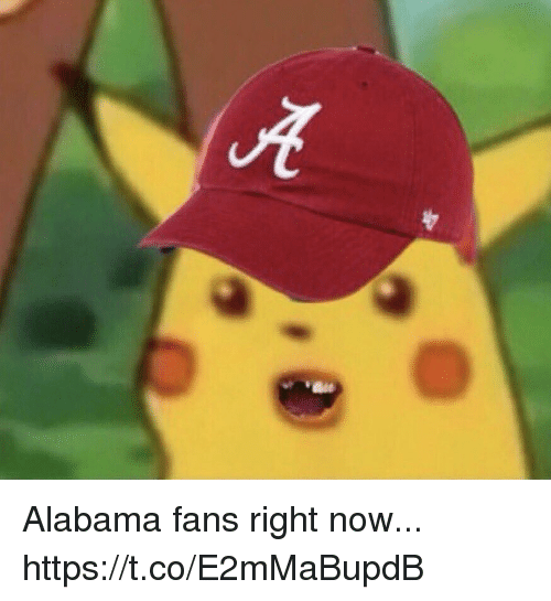 Football, Nfl, and Sports: Alabama fans right now... https://t.co/E2mMaBupdB