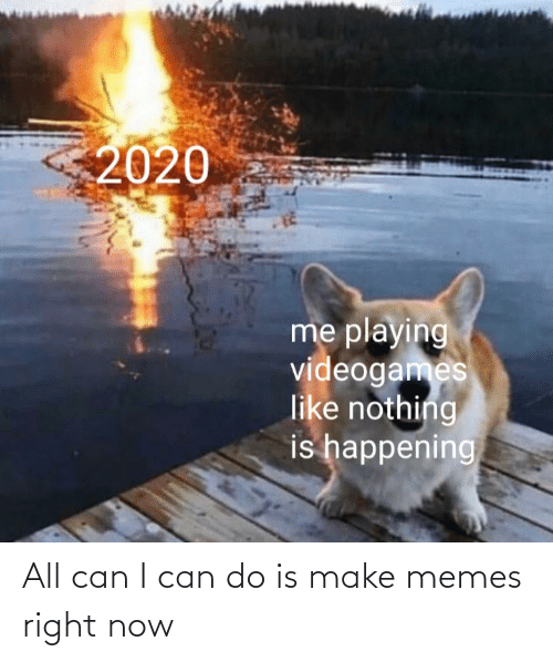 Make Memes: All can I can do is make memes right now