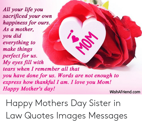 25 Best Memes About Happy Mothers Day Sister Happy Mothers Day