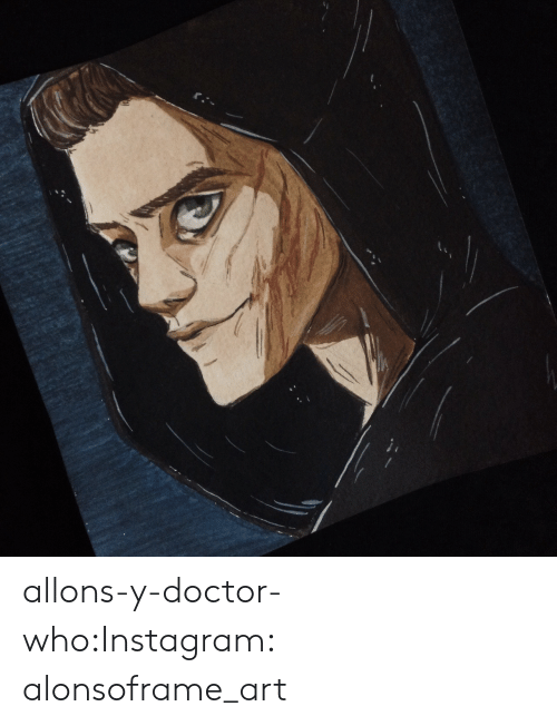 Doctor Who: allons-y-doctor-who:Instagram: alonsoframe_art