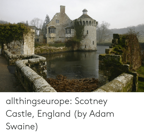 England: allthingseurope: Scotney Castle, England (by Adam Swaine)
