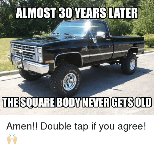 Memes, 🤖, and Amen: ALMOST 30 YEARS LATER  THESQUARE BODYNEVERGETSOLD Amen!! Double tap if you agree! 🙌🏼
