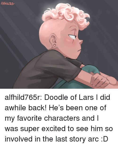 Target, Tumblr, and Blog: Alphild 765 alfhild765r: Doodle of Lars I did awhile back! He's been one of my favorite characters and I was super excited to see him so involved in the last story arc :D