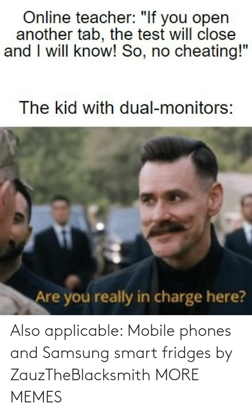 Phones: Also applicable: Mobile phones and Samsung smart fridges by ZauzTheBlacksmith MORE MEMES