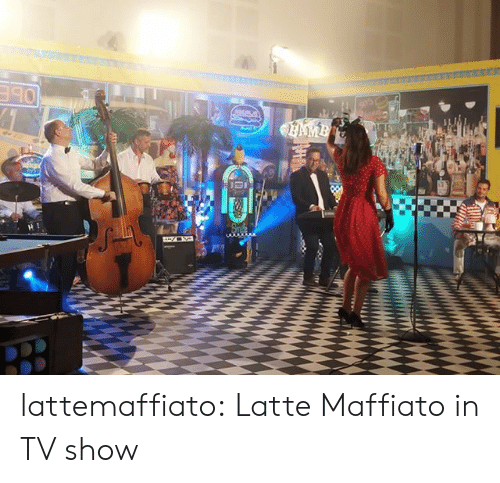 Tumblr, Blog, and Com: AMB lattemaffiato: Latte Maffiato in TV show