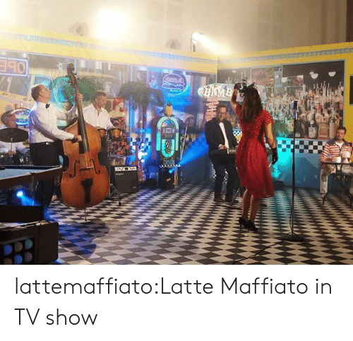 Tumblr, Blog, and Com: AMB lattemaffiato:Latte Maffiato in TV show