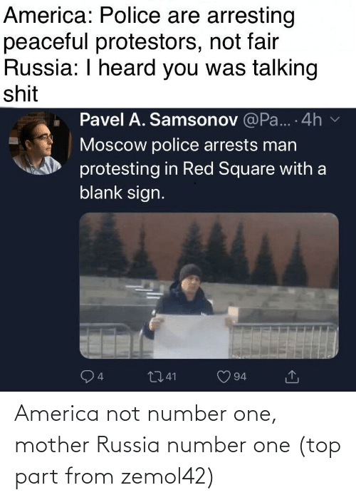 America: America not number one, mother Russia number one (top part from zemol42)