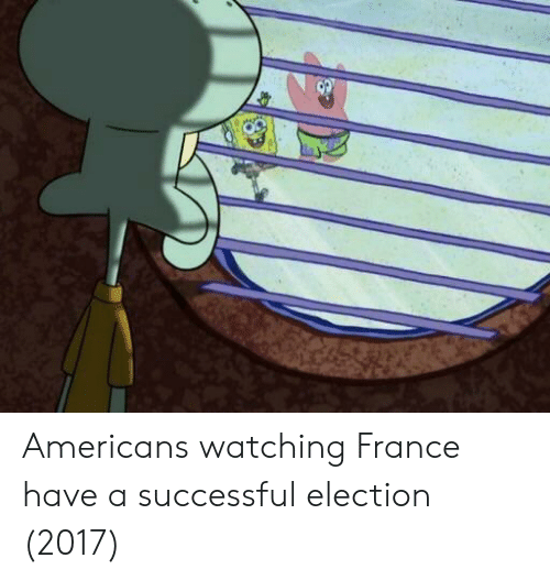 Electioneer: Americans watching France have a successful election (2017)