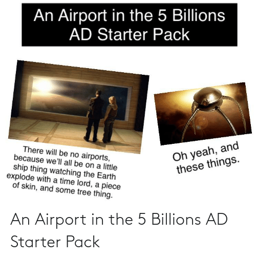 Billions: An Airport in the 5 Billions AD Starter Pack