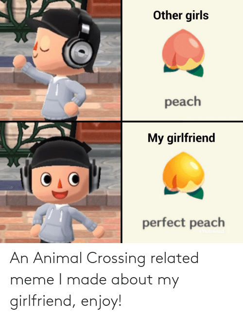 About: An Animal Crossing related meme I made about my girlfriend, enjoy!