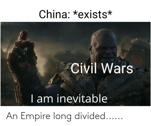 Divided: An Empire long divided......