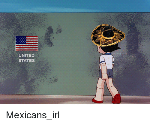 United, Irl, and United States: an  UNITED  STATES Mexicans_irl