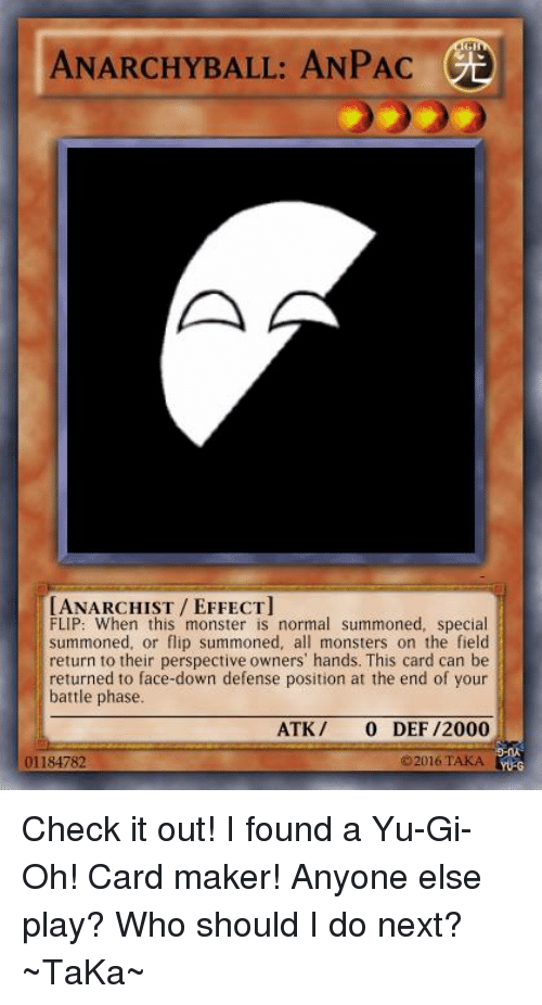 Image Of Meme Cards Maker Yugioh Card Makertrap Finna Buss Trap Card