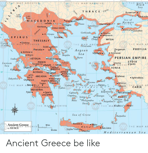 ancient greece: Ancient Greece be like