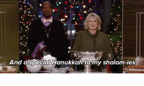 Hanukkah, Shalom, and Special: And a special Hanukkah to my shalom-ies
