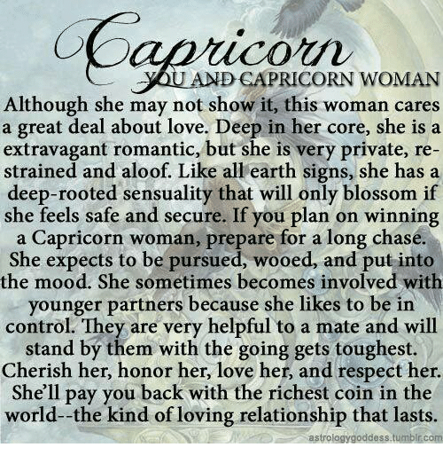 what is a capricorn woman like