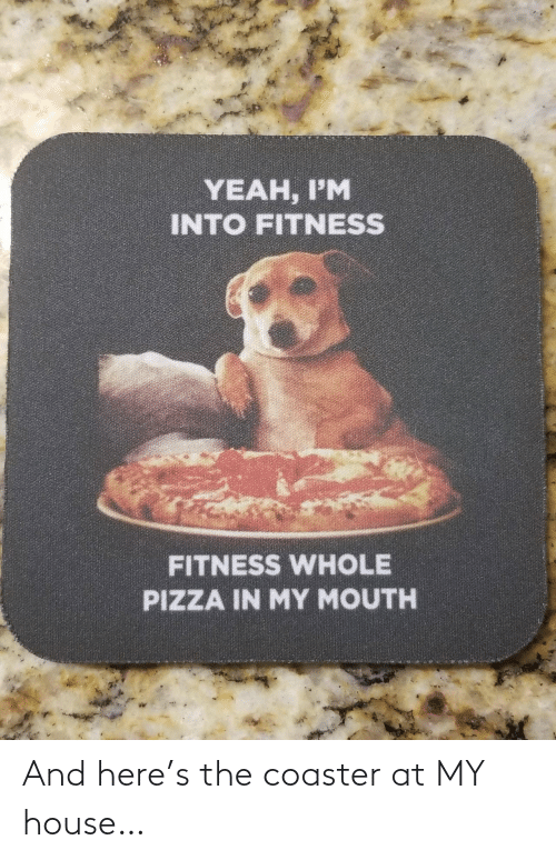 House: And here's the coaster at MY house…