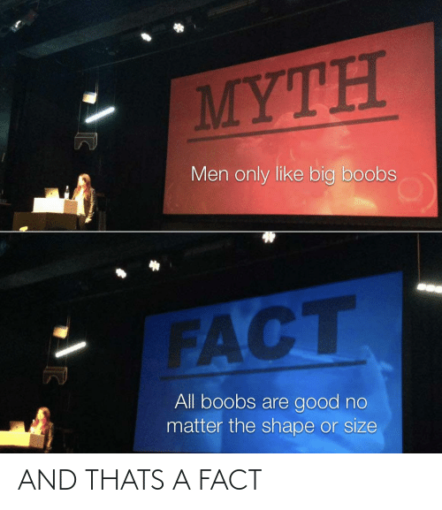 Thats: AND THATS A FACT