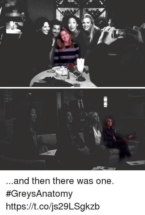 Memes, 🤖, and One: ...and then there was one. #GreysAnatomy https://t.co/js29LSgkzb