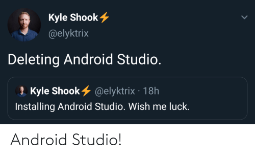Android: Android Studio!