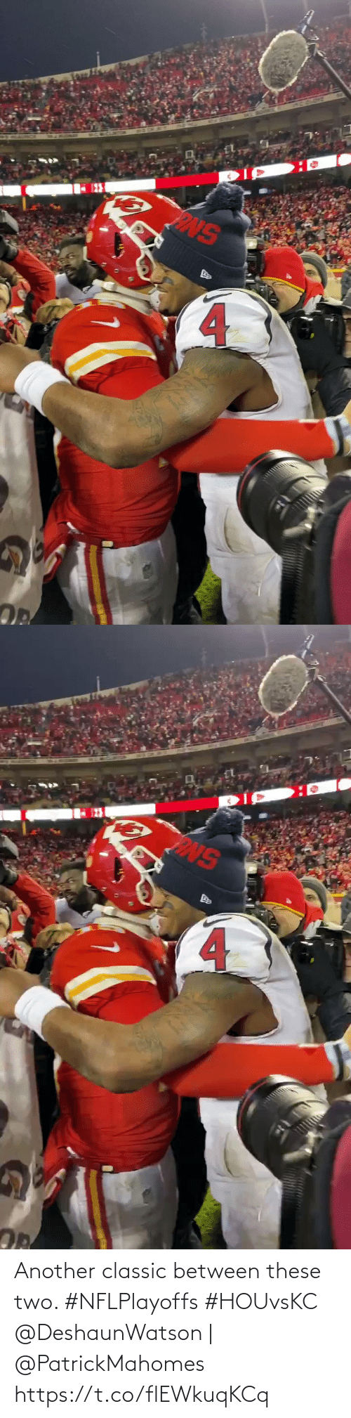 These: Another classic between these two. #NFLPlayoffs #HOUvsKC  @DeshaunWatson | @PatrickMahomes https://t.co/flEWkuqKCq