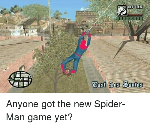 Spider, SpiderMan, and Game: Anyone got the new Spider-Man game yet?