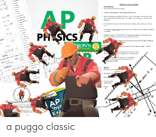"""princeton: AP Physics I Exam Cram Sheet  AP  PH SICS  General Remindrs  1. Crex your oAr faruk ctert ir suying  Namal"""" mens perpendicalr. Thirk about thr. for aamal faroes  2.  3. Choe: s crenirak sykm ttai bes sits Nentee's Laas Try nd get on ofthe saes lo be se fet  ZF-din tat drecion Ohervise e IR- ma, nd 2F,-a, and atevxtcr su of the  tem  сoгреть.  4. For Fk probiers het recuire a selation in terms of given variabks, ase the variabes giver, rot your  5. Fr FR protiers, daN al weet (inluding vateliring sear hugr preeses in amiving al a dabatian  ивпр.  tictt  6. Week dase by a force is ALWAYS POSITIVE n: fere and the direction the firce gos is in the  sne dresior. Force ndacceleration ae alaays in the sne direcion  RON'S  est Preparation  t poobkeres, bu: a fanorite tactic af AP es writes is to ake z comventianal  vads.  . Rena  1gred: Mas nd ereray, linar TKTKEtan, nal  Gzametry  unertun,  Wih  ekston  linsie te udesie nng or weka  oral or applicl foree or Tersin cr Car  10. A du NOT tine wased.Take alvatar  twak untl the es nine. If yoa codd leaa this  x ean since Septenber.  Trigenematiy  Mesturies  1. The sipe ofa position (äsan  2. The sixpe of a velecin  3. The ire  at r  4. Ifazknion nd  ciralar co  5. Pantels  INNTTER STRAFEO  The  Princeton  Beview  6..  AP  titludin The al  e back herkeguly vid  de the lop. Dee cach  eotectyeteriet  hys  Exa.  2019  s. 6. w  m.g. cose > a puggo classic"""