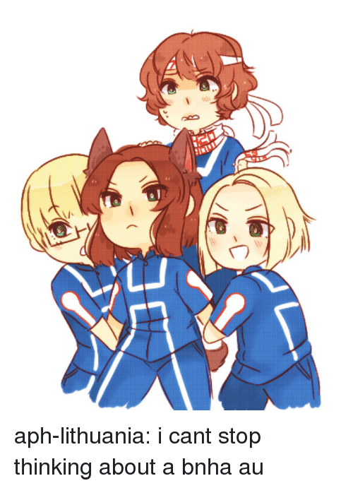 Lithuania: aph-lithuania:  i cant stop thinking about a bnha au