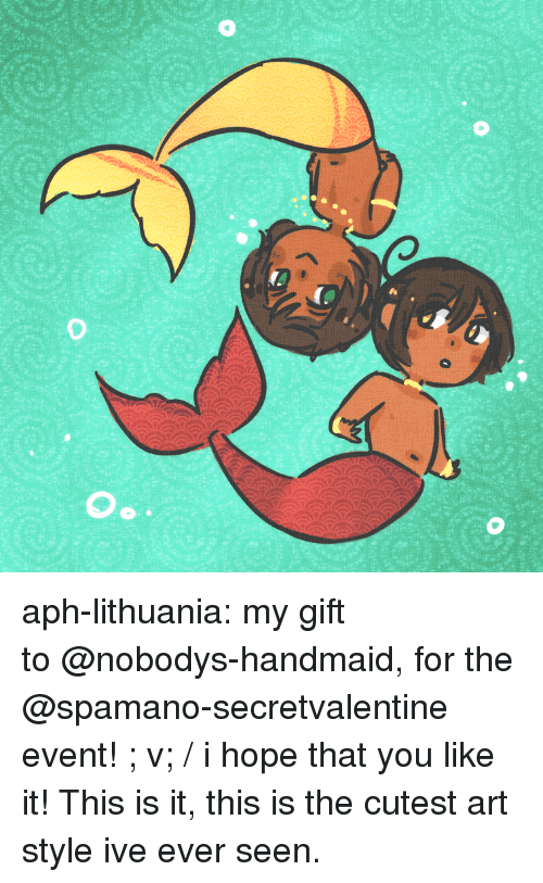 Lithuania: aph-lithuania:  my gift to@nobodys-handmaid, for the @spamano-secretvalentine event! ; v; / i hope that you like it!  This is it, this is the cutest art style ive ever seen.