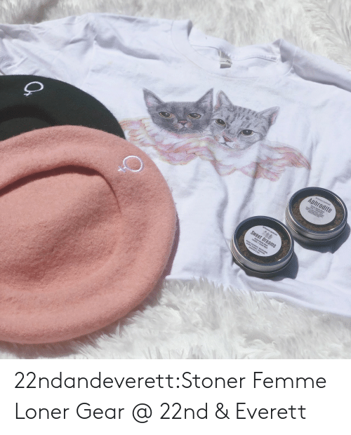 Tumblr, Aphrodite, and Blog: Aphrodite  Sweet Dreams  teakz ind  gnt, ca  ti&r 22ndandeverett:Stoner Femme Loner Gear @ 22nd & Everett