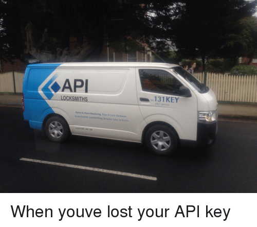Control, Lost, and Access: API  LOCKSMITHS  131 KEY  24/7 service  Alarms & Alarm Monitoring Door & Lock Hardware  Access Control Locksmithing Services Safes & Vaults When youve lost your API key