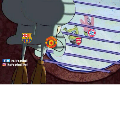 utd: ARCHIETDS  Arsenal  UNITRR  fTrollFootball  TheFootballTroll Barcelona & Man Utd fans right now https://t.co/0NmNRJVplD