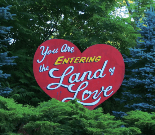 Love, You, and Are You: are  you  ENTERING  the  s  Land  Love