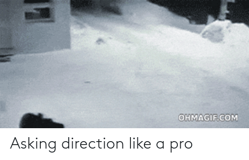 Asking: Asking direction like a pro