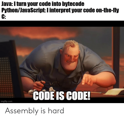 hard: Assembly is hard