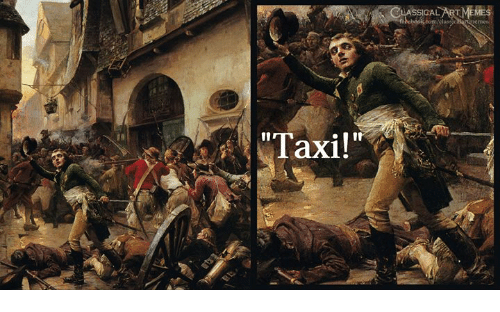 "Taxi and Classical Art: ASSICAL  ""Taxi!"""