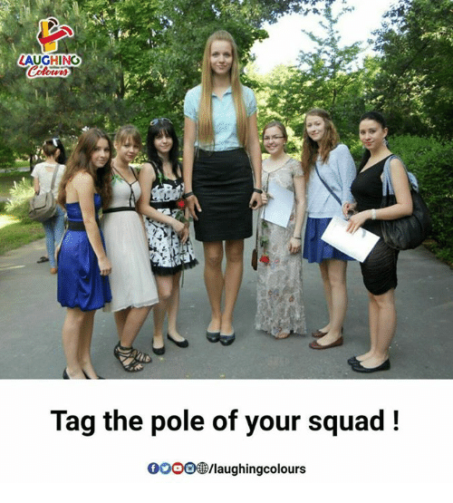 Squade: AUGHING  Tag the pole of your squad!  GOoo/laughingcolours