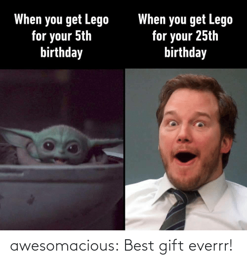 gift: awesomacious:  Best gift everrr!