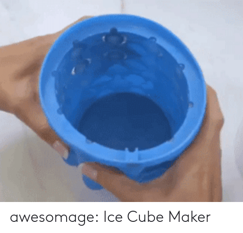 Ice Cube, Tumblr, and Blog: awesomage:  Ice Cube Maker