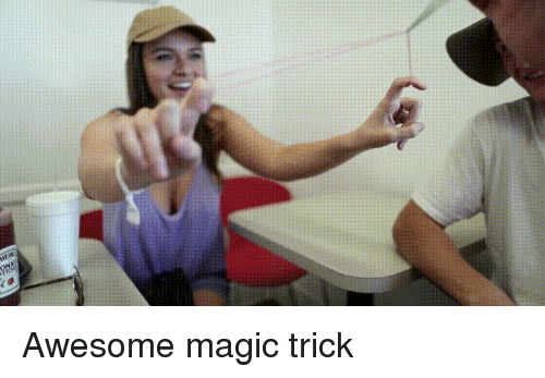 Funny, Magic, and Awesome: Awesome magic trick