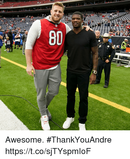 Memes, Awesome, and 🤖: Awesome. #ThankYouAndre https://t.co/sjTYspmIoF
