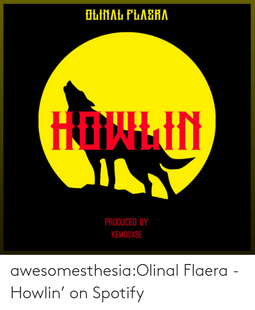 Umblr: awesomesthesia:Olinal Flaera - Howlin' on Spotify