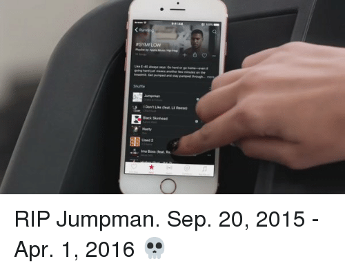 Blackpeopletwitter, Jumpman, and Nasty: Back Sinead  Nasty  Used RIP Jumpman. Sep. 20, 2015 - Apr. 1, 2016 💀