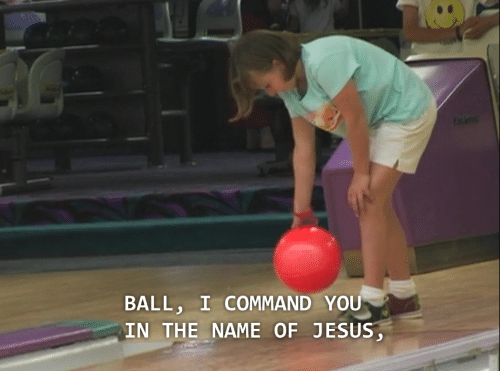 Commandeer: BALL, I COMMAND YOU  IN THE NAME OF JESUS