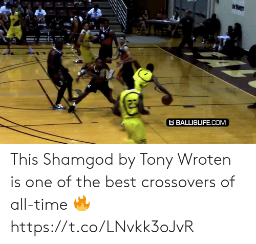one of the best: BALLISLIFE.COM This Shamgod by Tony Wroten is one of the best crossovers of all-time 🔥 https://t.co/LNvkk3oJvR